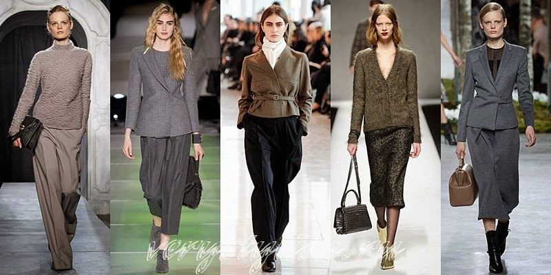 Fall-Winter 2014-2015 Women's Clothes Fashion Trends