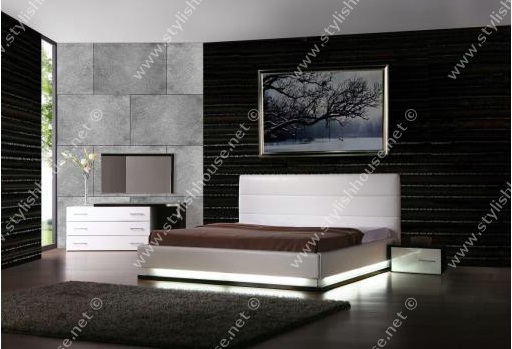 stylish bedroom furniture sets. Stylish Bedroom With Deep Walls Colors And Lights On Bottom Of Frame Adds  Ambient Glow Furniture Sets