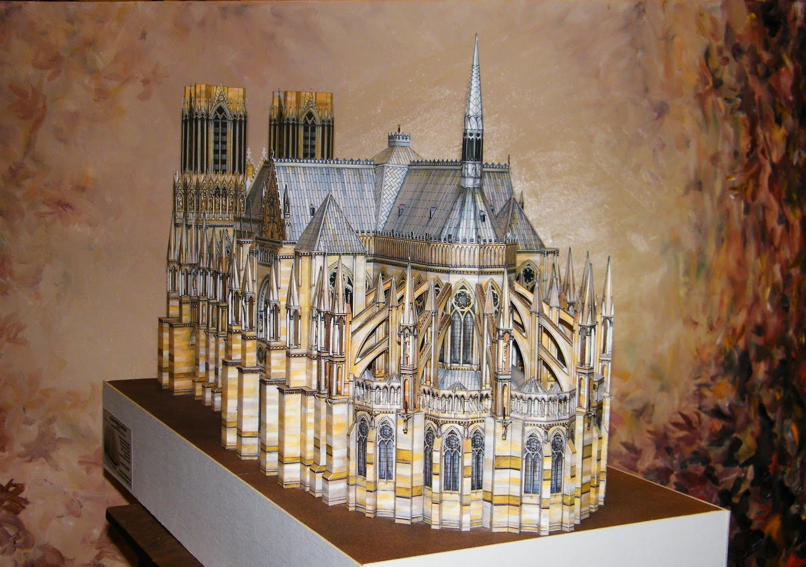 modelships world in scale reims cathedral