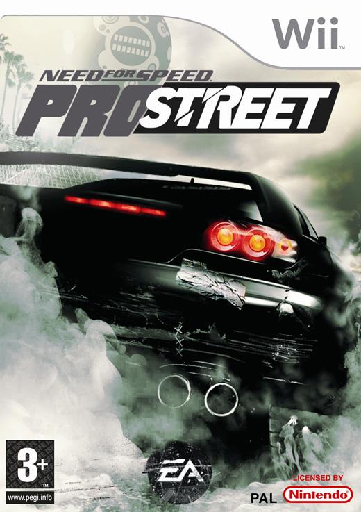 Need For Speed Pro Street Wii 2009 Menezes Inf Mc