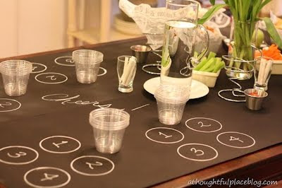 Chalkboard Tablecloth