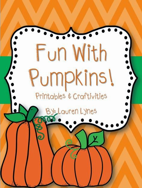 http://www.teacherspayteachers.com/Product/Fun-with-Pumpkins-Printables-Craftivities-874622