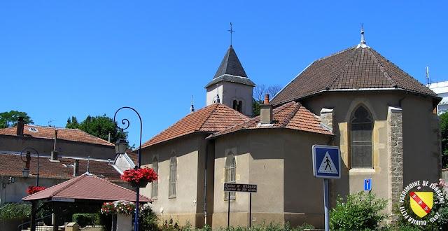 SAINT-MAX (54) - Eglise Saint-Médard
