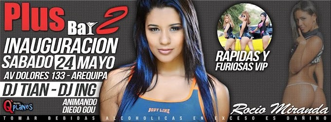 Rocio Miranda en Arequipa - 24 de mayo