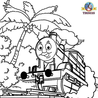 Misty Island rescue free coloring pages for boys activity worksheets for kids Thomas and friends art
