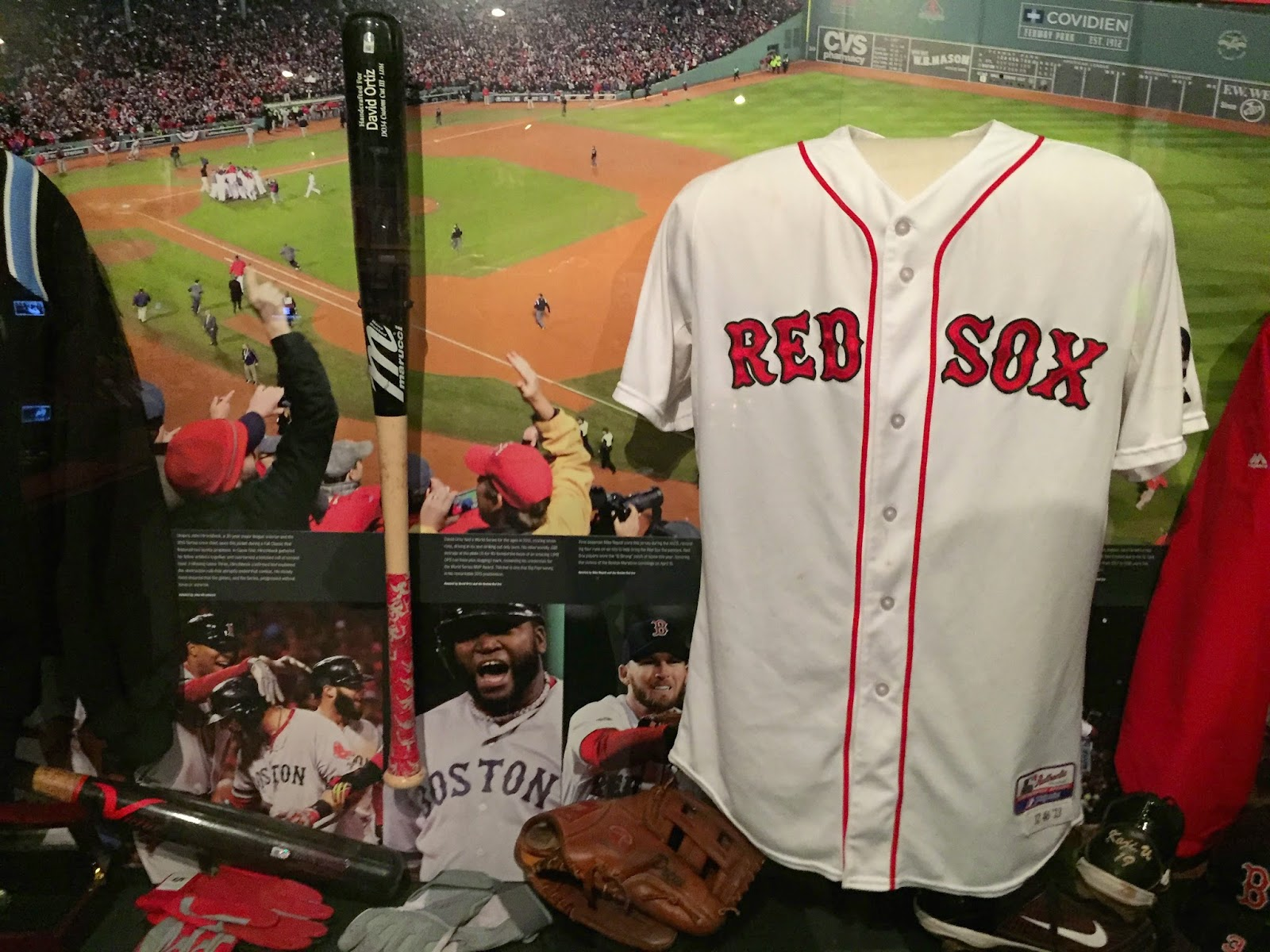 2013 Red Sox World Series Memorabilia