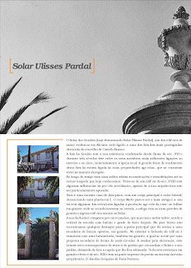Folheto - Solar Ulisses Pardal