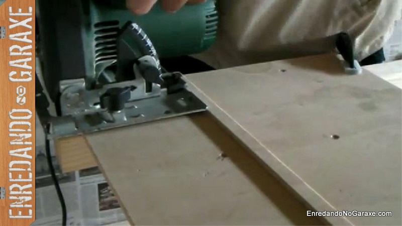 How to make a circular saw guide, enredandonogaraxe