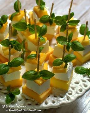 mango and feta insalata   everyday exotica