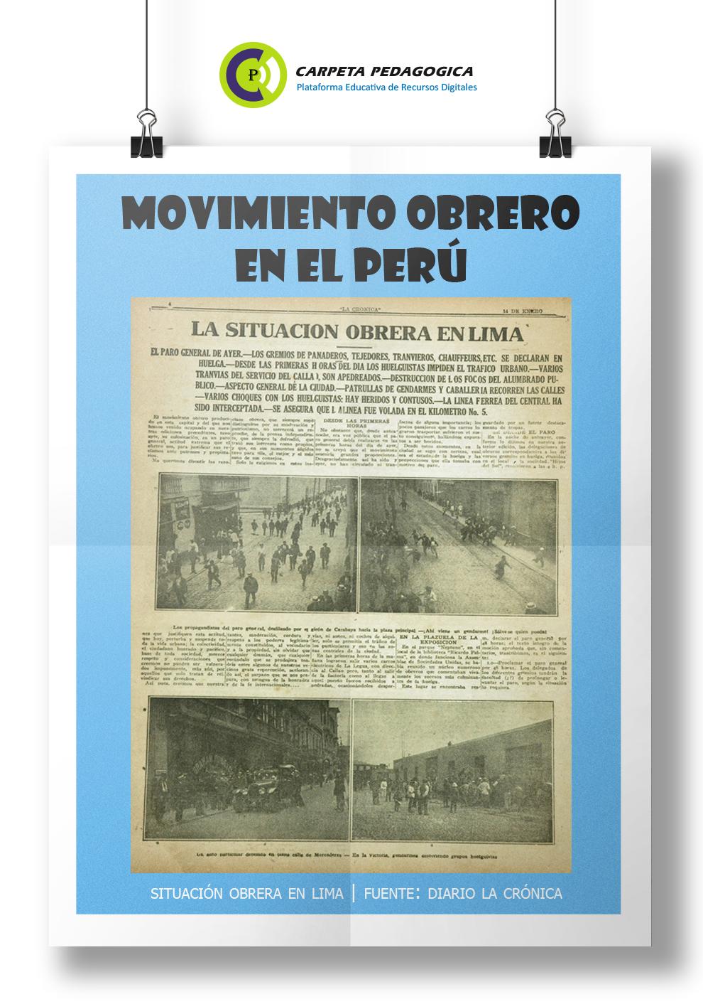 Movimiento Obrero en el Perú