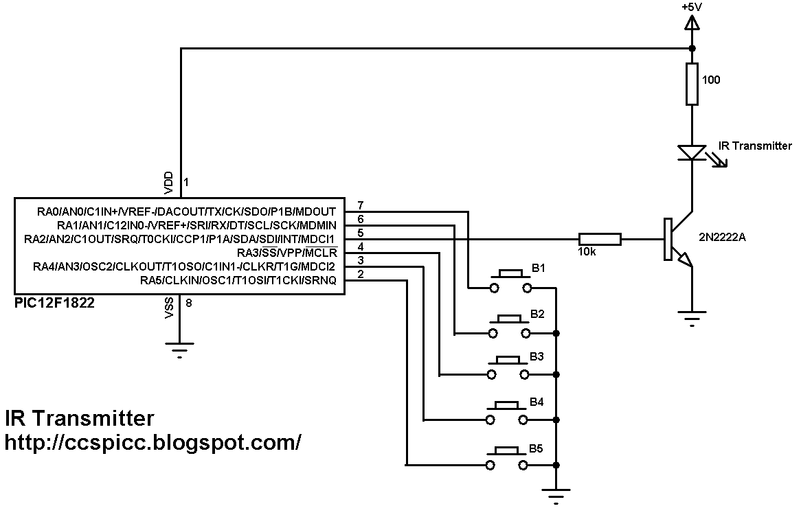 Ir Receiver Schematic Infrared Headphones Transmitter Circuit Remote Control And Using 1166x750