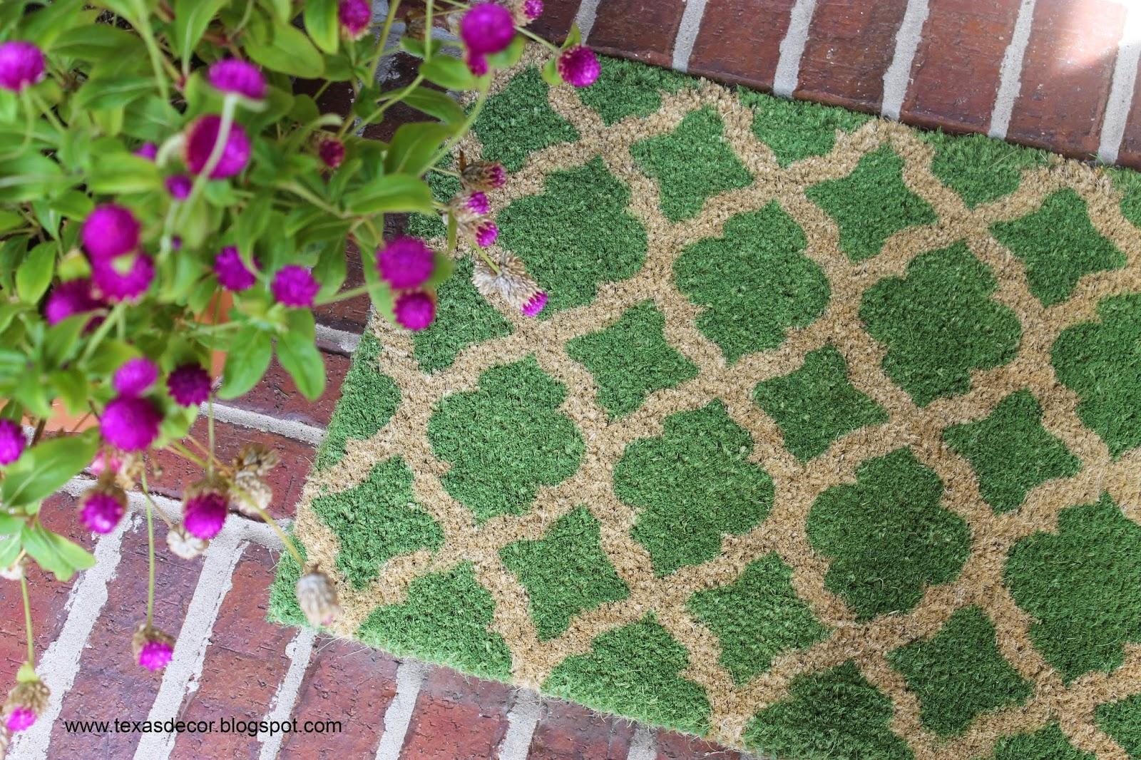 kohls geometric doormat