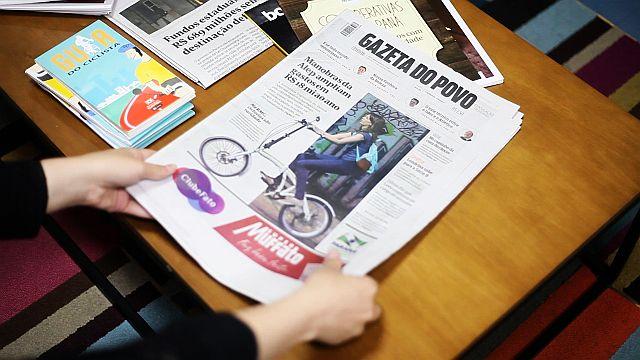 Gazeta do Povo em formato berliner