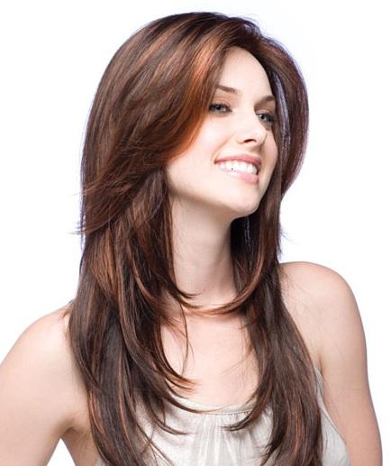 long straight hair styles