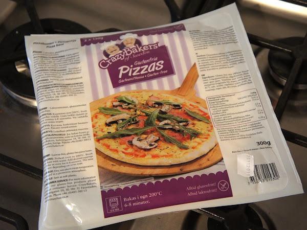 glutenfreier Pizzaboden von CrazyBakers
