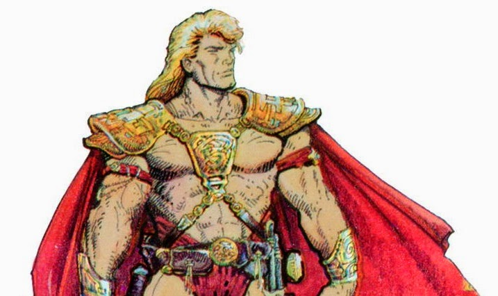"Masters of the Universe (1987) ""He-Man"" concept art by William Stout"