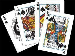 Jogo de cartas.