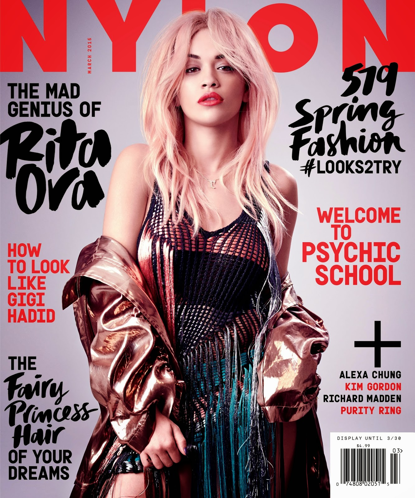 Pop , R&B , pop rock , soul , dance pop,Singer: Rita Ora for Nylon