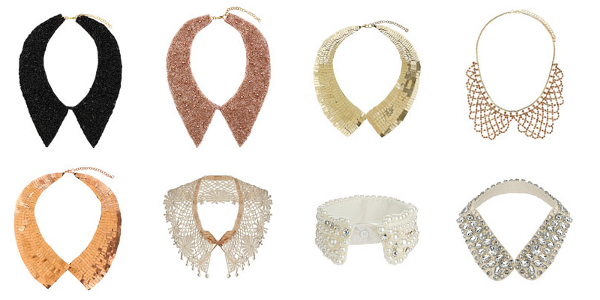Collar Necklace Trend