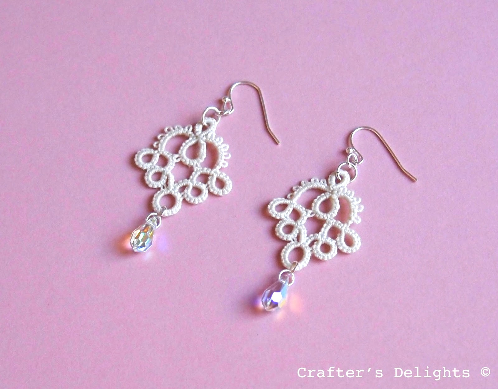 Tatted Lace Earrings