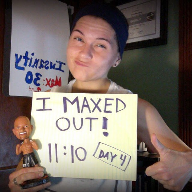 #imaxedout, Insanity: MAX 30, Insanity, Max Out, Shaun T, Jaime Messina