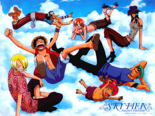 Straw Hat Crew at Skypiea