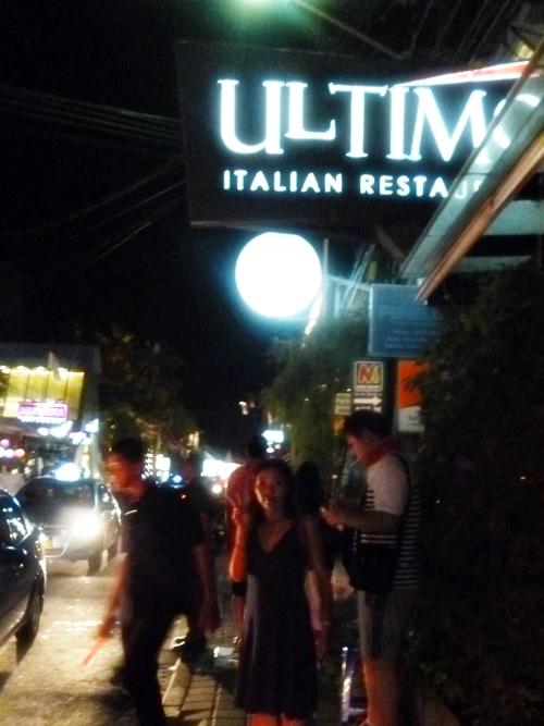 Ultimo Itaalian Restaurant BALI