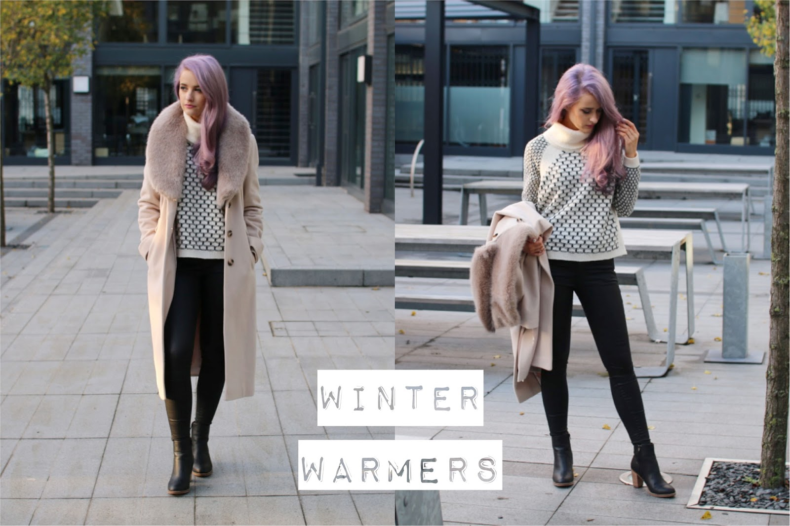 Faux Fur Collars and Cowl Necks for Winter