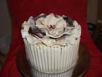 Fehér csokis - fehér csoki torta