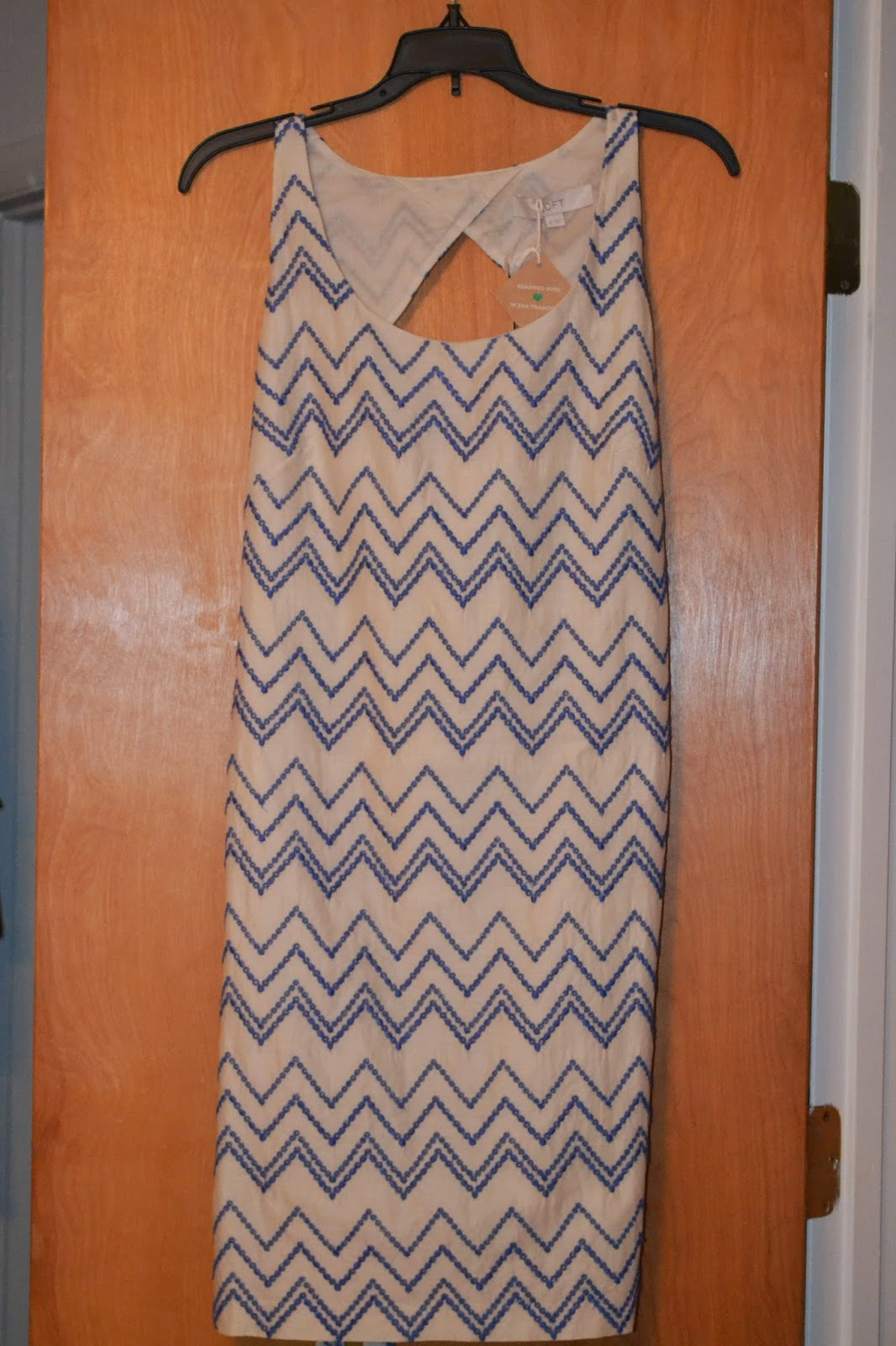 Thred up Chevron Dress