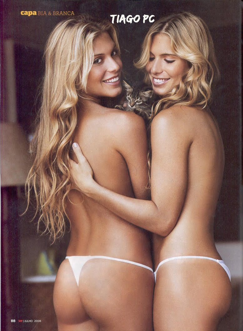 Sexy Hot Brazilian Women - Bia and Branca Feres