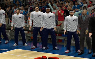 NBA 2K13 Team USA Warmup Uniform