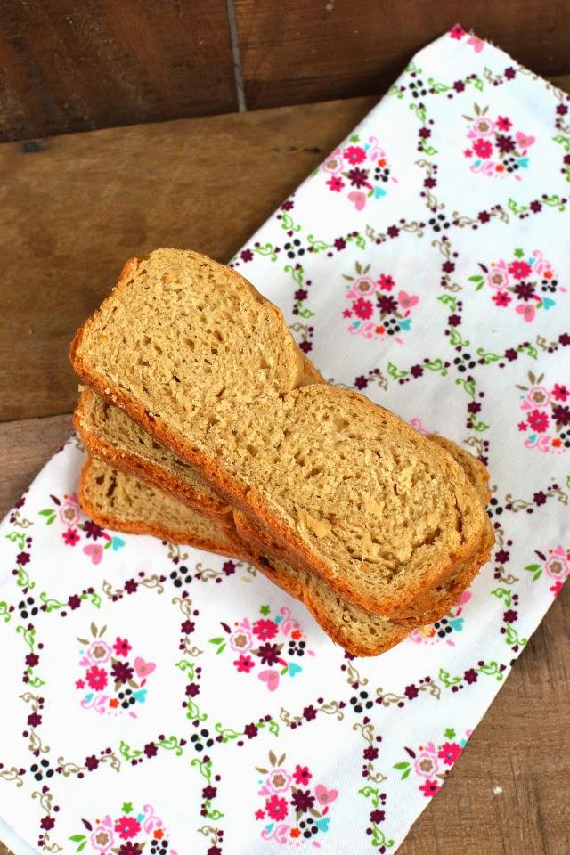 Whole wheat Milk Bread made in India