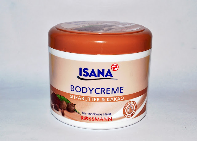 Isana Bodycreme Sheabutter and Kakao