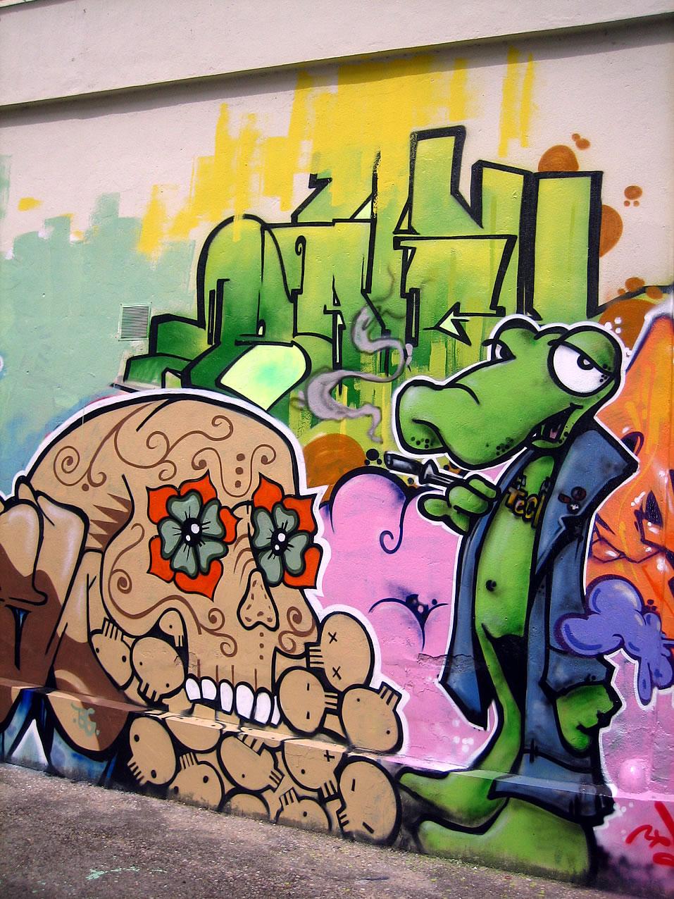 Imagenes Dibujos De Graffiti