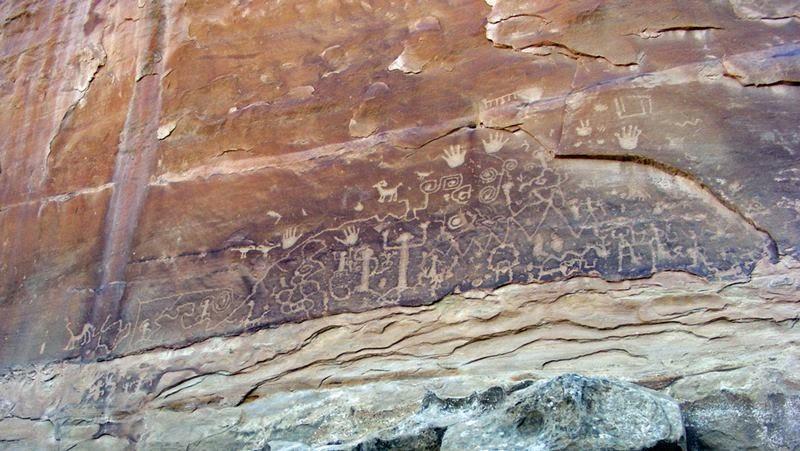 Mesa Verde Petroglyph