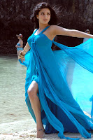 Shruti Hassan hot in blue dress
