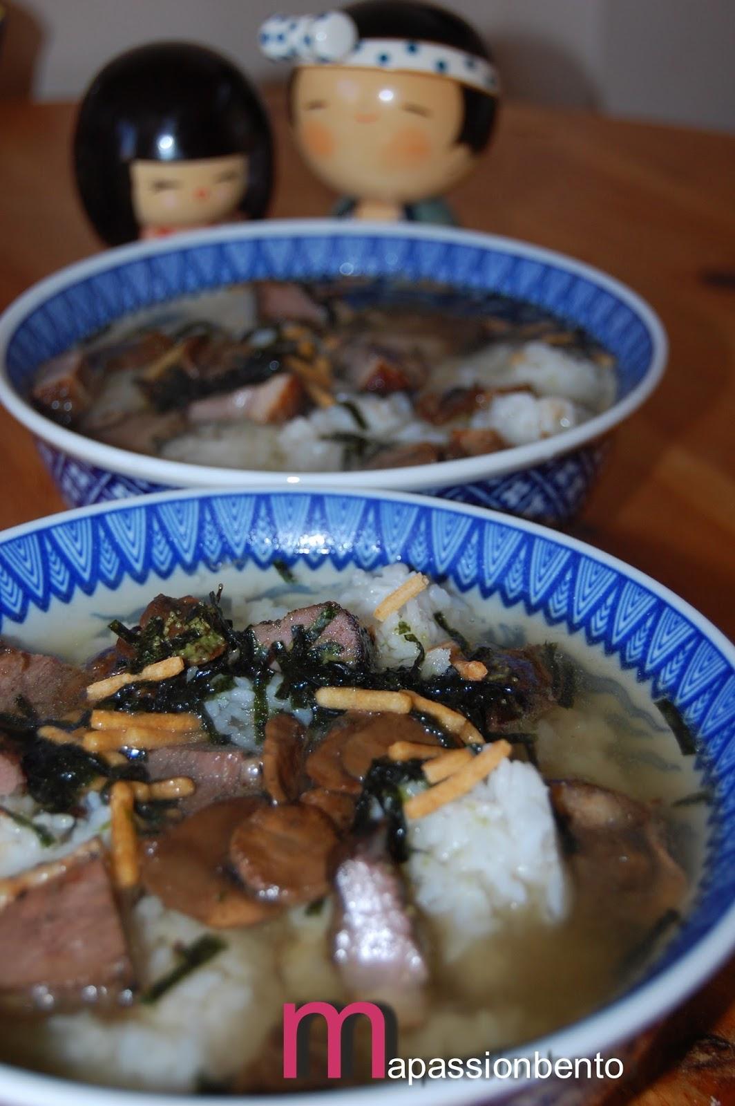 Ma passion bento ochazuke vous connaissez for Allez cuisine translation