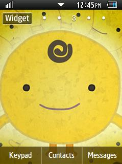 Anime Simsimi Samsung Corby 2 Theme Wallpaper