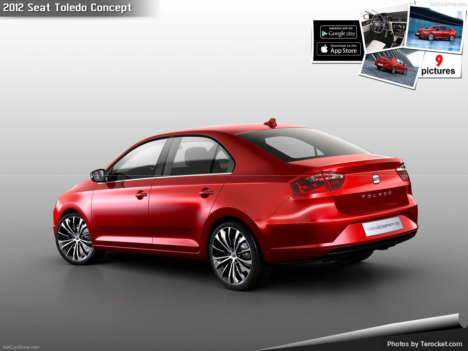 Hình ảnh xe ô tô Seat Toledo Concept 2012 & nội ngoại thất