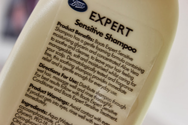 Boots Sensitive Expert Shampoo & Conditioner // Review