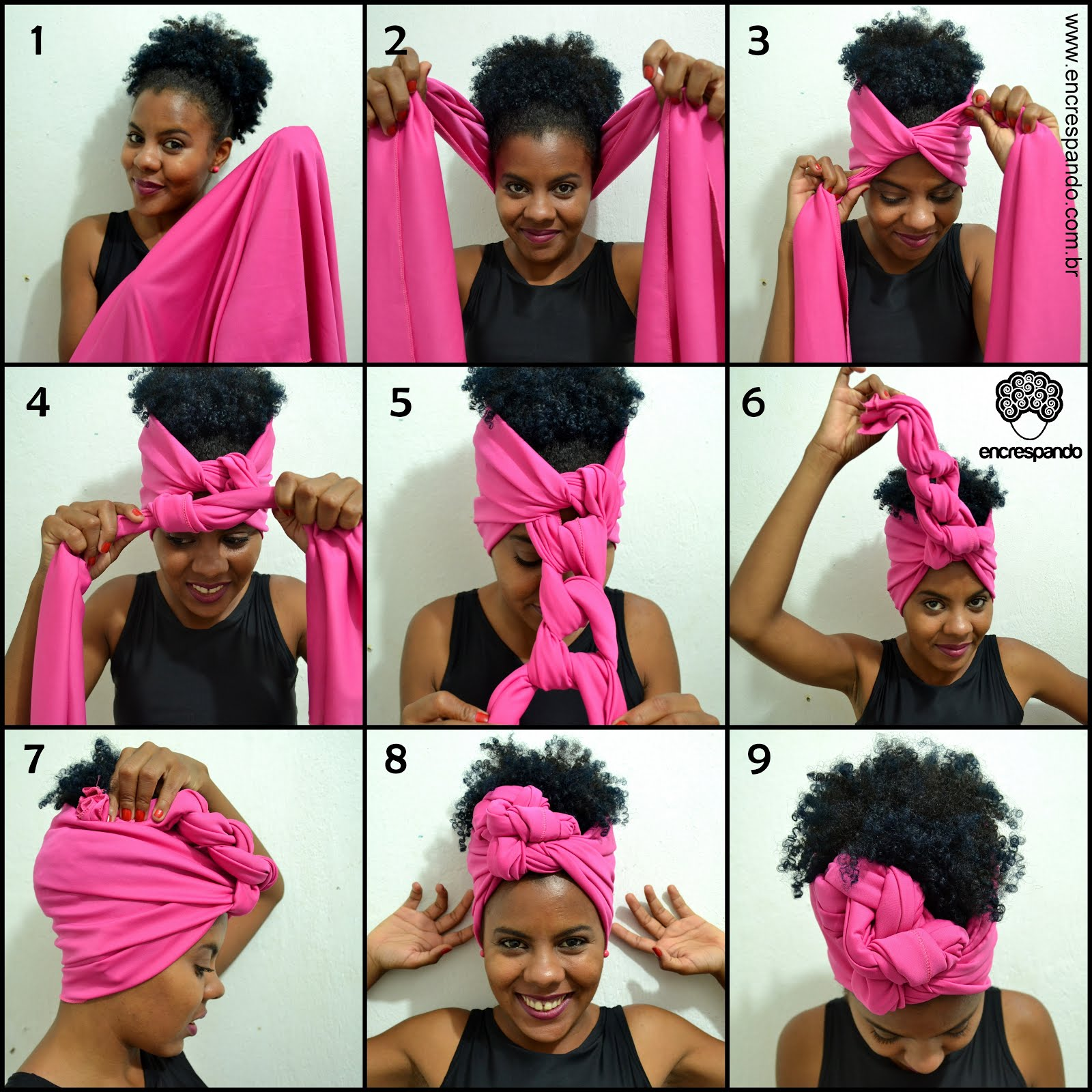 Tutorial de turbante