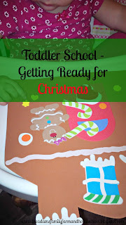 Toddler School - Getting Ready for Christmas