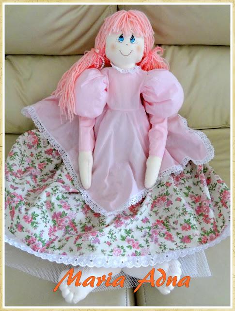 Bonecas, bonecas de pano, bonecas de tecido, Maria Adna, Maria Adna Ateliê