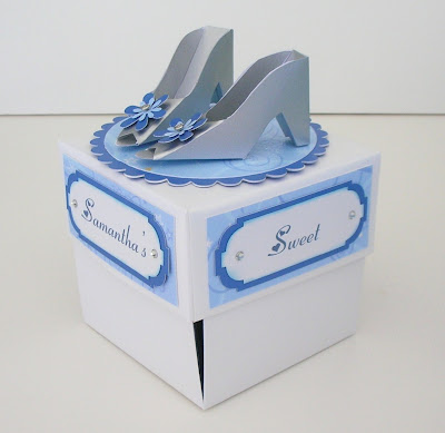 Cinderella Paper Shoe Template Side view: check out the
