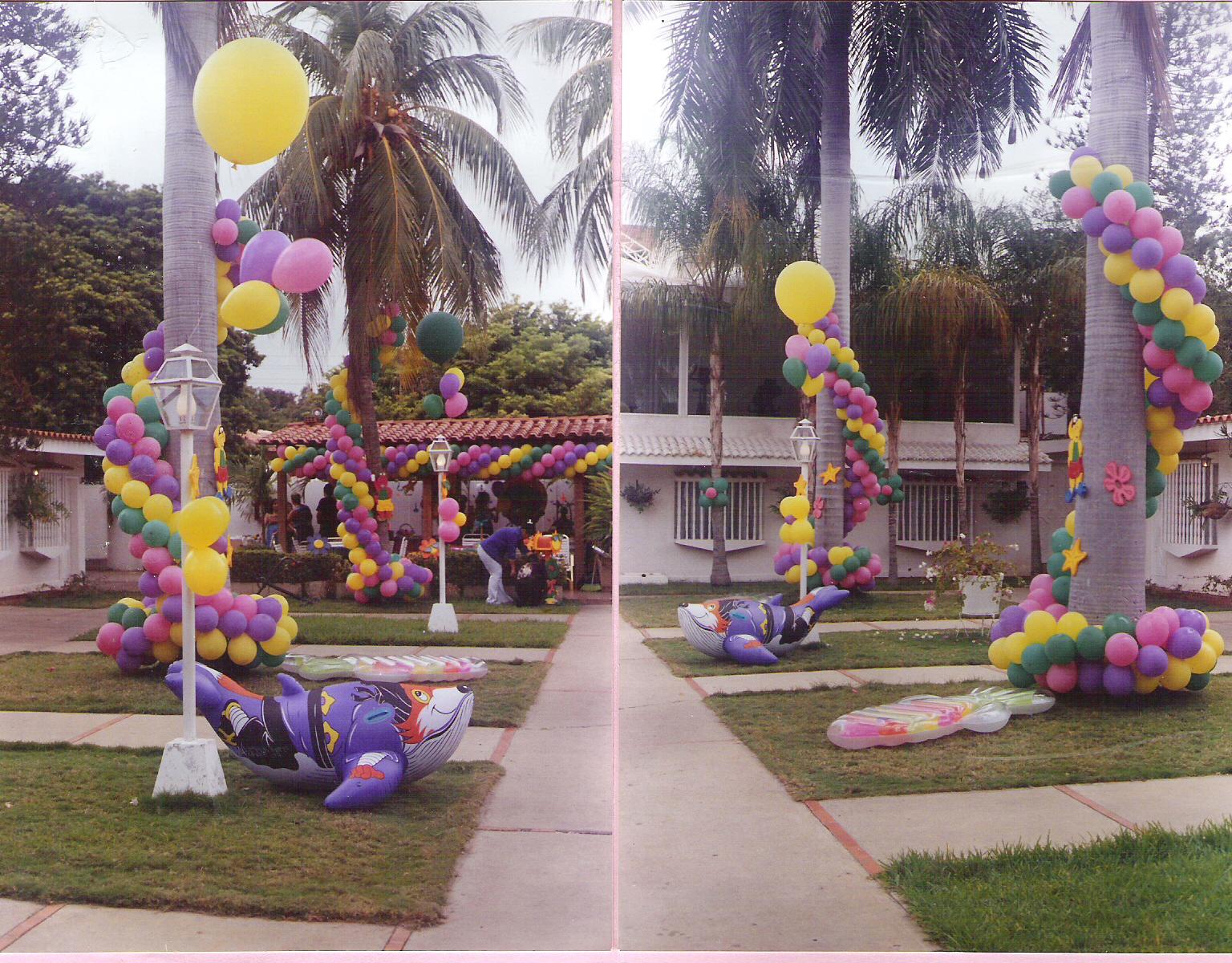 Decoracion Rapunzel Globos ~ Karuzza Eventos DECORACION E INSTALACION DE GLOBOS