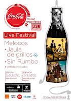 El 1 de junio de 2012 el festival U18 de Coca cola en la Sala Custom de Sevilla