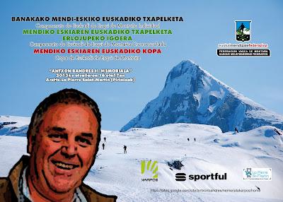Fête du ski de Randonnée avec le Championnat Euskadi Cronoescalada