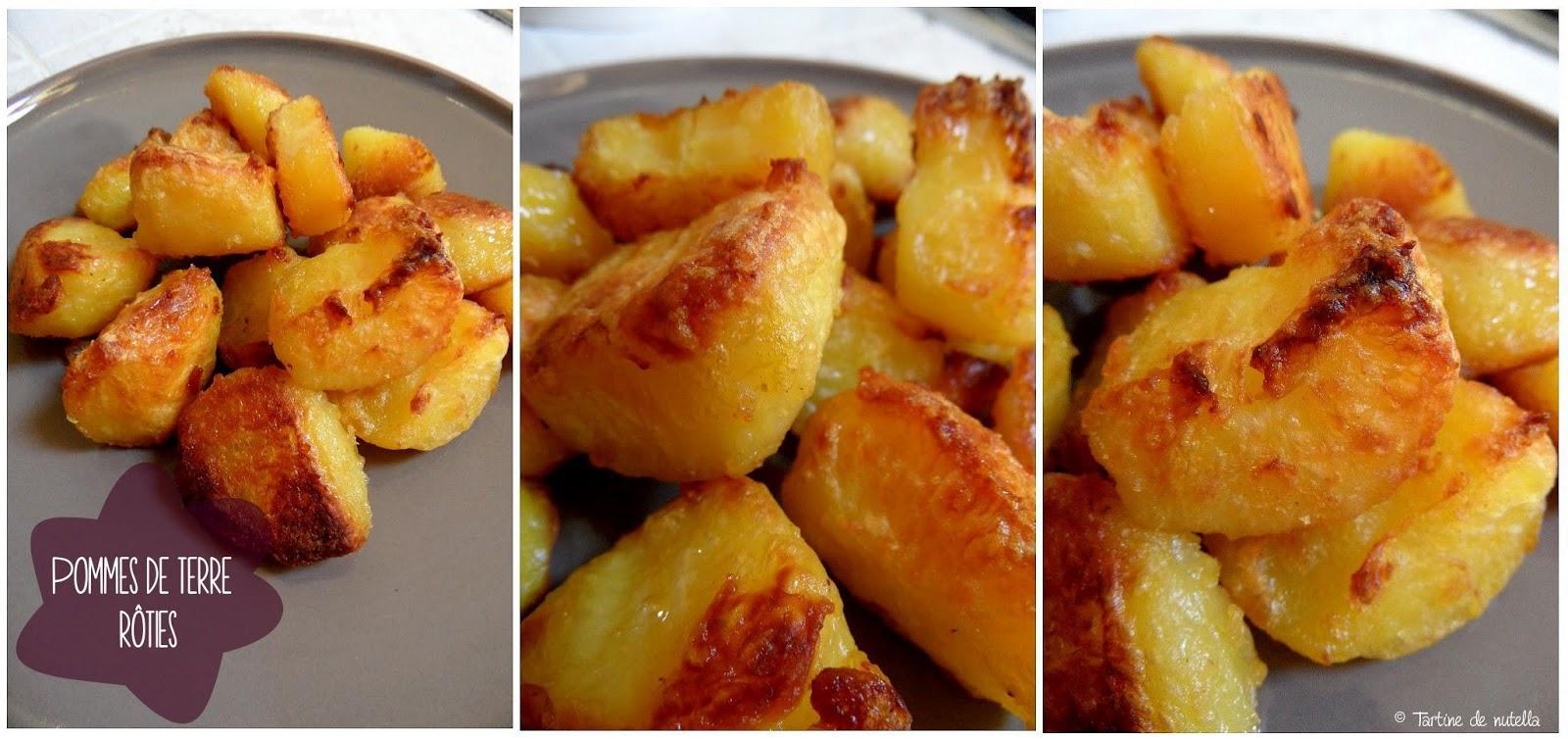 Pommes de terre r ties fa on pascale weeks food addict - Pomme de terre au beurre ...