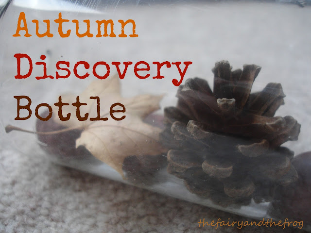 Autumn discovery bottle